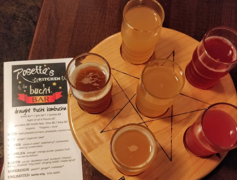Kombucha Flight